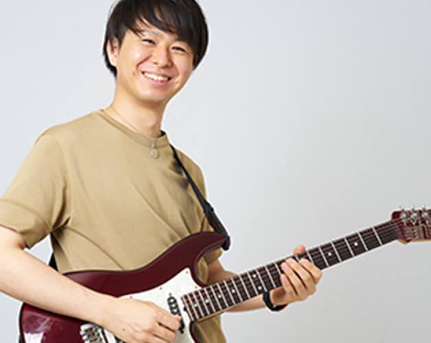 ギター講師の写真