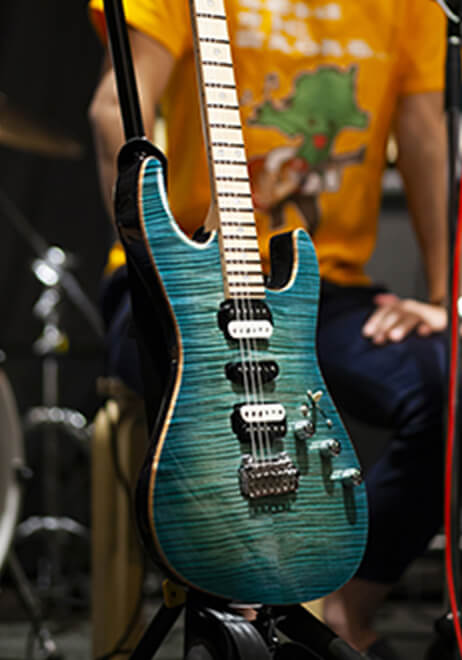 参加者のギター2